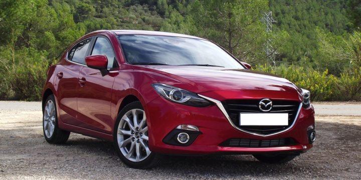 Открыть автомобиль Mazda (Мазда)